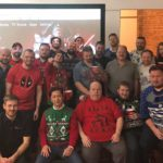 Umbrella Managed Services: Christmas Party 2017