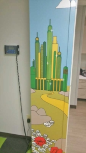 PPA Office Tour: Yellow Brick Road Artwork